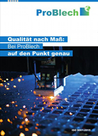 ProBlech GmbH Broschuere